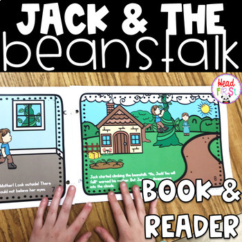 Jack and the Beanstalk Read Aloud Book and Student Reader