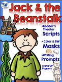 Jack and the Beanstalk Literacy Set - Scripts Masks and Printables