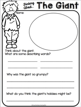 image about Jack and the Beanstalk Printable identify Jack and the Beanstalk Literacy Mounted - Scripts Masks and Printables