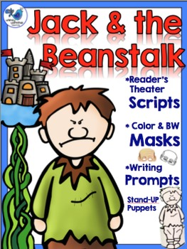 Jack and the Beanstalk Literacy Set - Scripts Masks and Pr