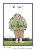 Jack and the Beanstalk Character Cards