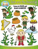 Jack and the Beanstalk Fairy Tale Clipart {Zip-A-Dee-Doo-Dah Designs}