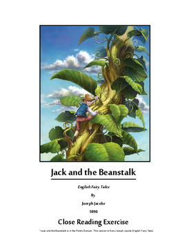Jack and the Beanstalk Close Reading