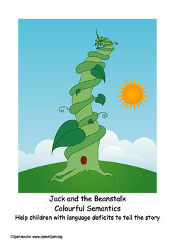 Jack and the Beanstalk - Colourful Semantics