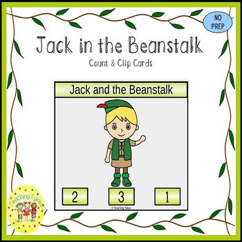 Jack and the Beanstalk Task Cards
