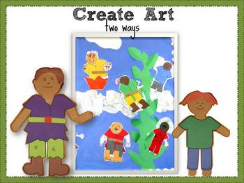 Jack and the Beanstalk Creative Art and Writing Project