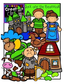 Jack and the Beanstalk {Creative Clips Digital Clipart}