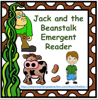 picture about Jack and the Beanstalk Printable named Jack and the Beanstalk Emergent Reader