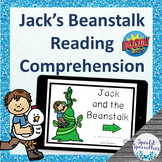 Jack and the Beanstalk Fairy Tales Reading Comprehension B