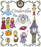 Cinderella Fairytale Clipart Set {KT Creates Original}