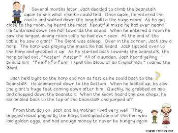 Jack and the Beanstalk: Fiction and Non-Fiction Fun