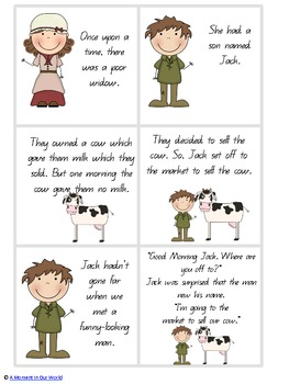 Jack and the Beanstalk Grades 1,2,3