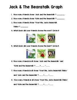 Jack and the Beanstalk - Data Collecting & Graphing