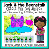 Jack and the Beanstalk Growing Beans Display, Sequencing and Writing Activities