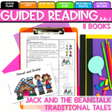 Seesaw Preloaded/ Printable Jack and the Beanstalk Guided Reading Levels AA-J