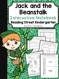 Jack and the Beanstalk Interactive Notebook ~ Reading Street Kindergarten