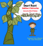 Jack and the Beanstalk Interactive Word Problems & Math Centers