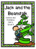 Jack and the Beanstalk, Kindergarten, Centers and Printables, Reading Street