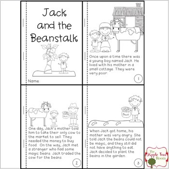 Jack And The Beanstalk Plant Unit Ccss Reading Writing