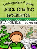 Jack and the Beanstalk Literacy Activity Pack for Kindergarten and First Grade
