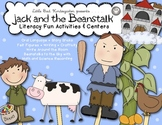 Jack and the Beanstalk Literacy Fun Activities & Centers