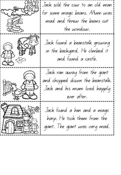Jack and the Beanstalk Literacy Unit