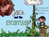 Jack and the Beanstalk Literacy and Math Unit for Kinder