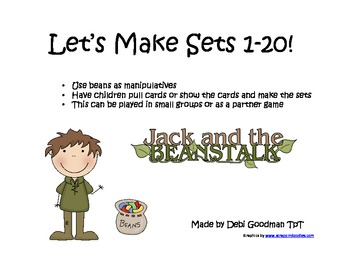 Jack and the Beanstalk Making Sets 1-20