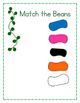 Jack and the Beanstalk Matching Colors File Folder Game