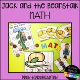 Jack and the Beanstalk Math Activities for Preschool-Kindergarten