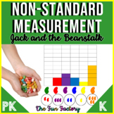 Non-Standard Measurement Activities Jack and the Beanstalk PreK  Kindergarten