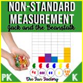 Non-Standard Measurement Activities Jack and the Beanstalk #luckyshamrocks