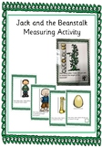 Jack and the Beanstalk Measuring activity
