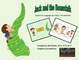 Jack and the Beanstalk Narrative Unit Activities - Speech and Language