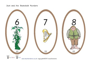 Jack and the Beanstalk Numbers 0-20
