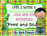 Jack and the Beanstalk : Print and Go  Unit 2 Week 6 Reading Street Kindergarten