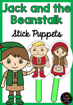 Jack And The Beanstalk Puppets By Little Hands Early
