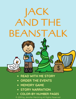 Jack and the Beanstalk Reader & Activities