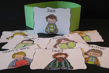 Jack and the Beanstalk - Reader's Theater and Puppet Fun! Two Versions!