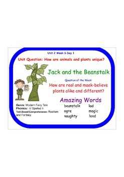Jack and the Beanstalk (Reading Street)