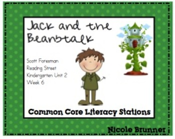 Jack and the Beanstalk Reading Street Unit 2 Week 6  Core