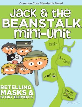 image about Jack and the Beanstalk Story Printable known as Jack And The Beanstalk Printables Worksheets TpT