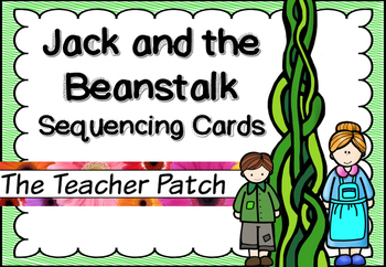 Jack And The Beanstalk Sequencing Cards Teaching Resources