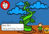 Jack and the Beanstalk Sequencing Cards - Bee Bots