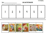 Jack and the Beanstalk Sequencing--Kindergarten Reading St