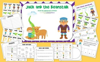 Jack and the Beanstalk: Speech and Language Book Companion