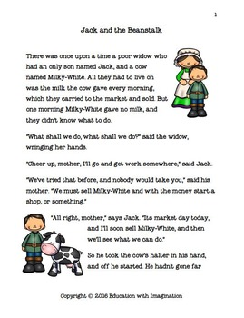Jack and the Beanstalk Story Bundle