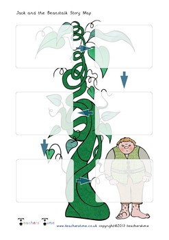 image about Jack and the Beanstalk Story Printable identify Jack And The Beanstalk Tale Map Worksheets Instruction
