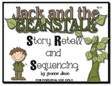 Jack and the Beanstalk Story Retell and Sequencing