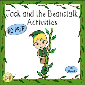photo about Jack and the Beanstalk Story Printable titled Jack and the Beanstalk Actions